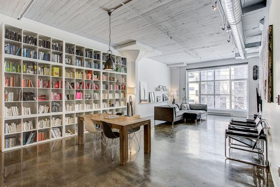 Home of the Week: A textile factory loft in Montreal weaves new and old