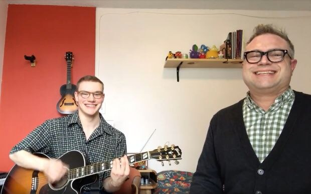 Steven Page and son Ben channel their love of musical theatre with projects for Stratford and Broadway
