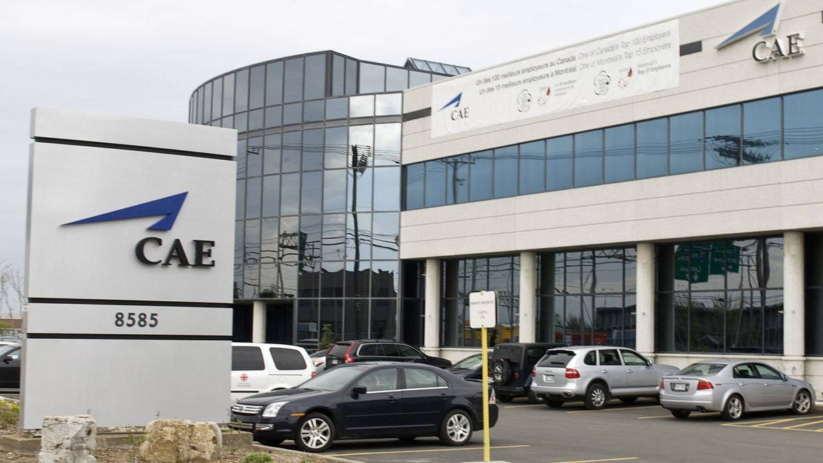 This file photo shows CAE's headquarters, located in Montreal.