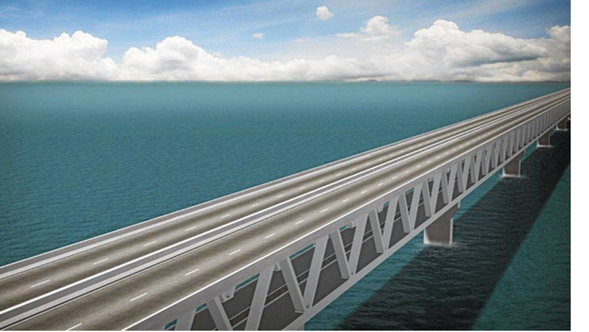 The RCMP searched SNC-Lavalin's Oakville office after being tipped off about corruption allegations involving the Padma Bridge project in Bangladesh. This is an artist rendering of the Padma Bridge project.