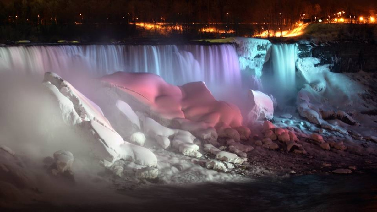 Winter Festival of Lights, Niagara Falls, Ont.: North Americans love their Christmas lights, and this extravaganza, on until Jan. 31, has three-million bulbs in 125 displays. Explore the sparkle, then glide around Rink on the Brink overlooking the Horseshoe Falls - also a good spot to catch the famous Friday-night fireworks.
