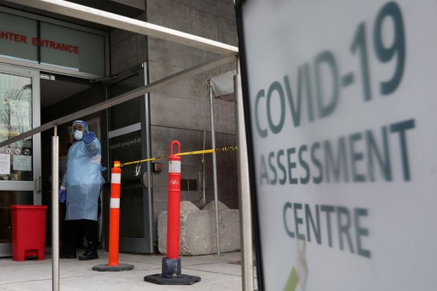 Ontario Reports Record 2 275 New Covid 19 Cases The Globe And Mail