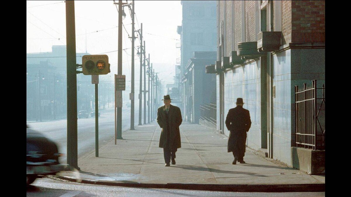Fred Herzog, Two Men in Fog