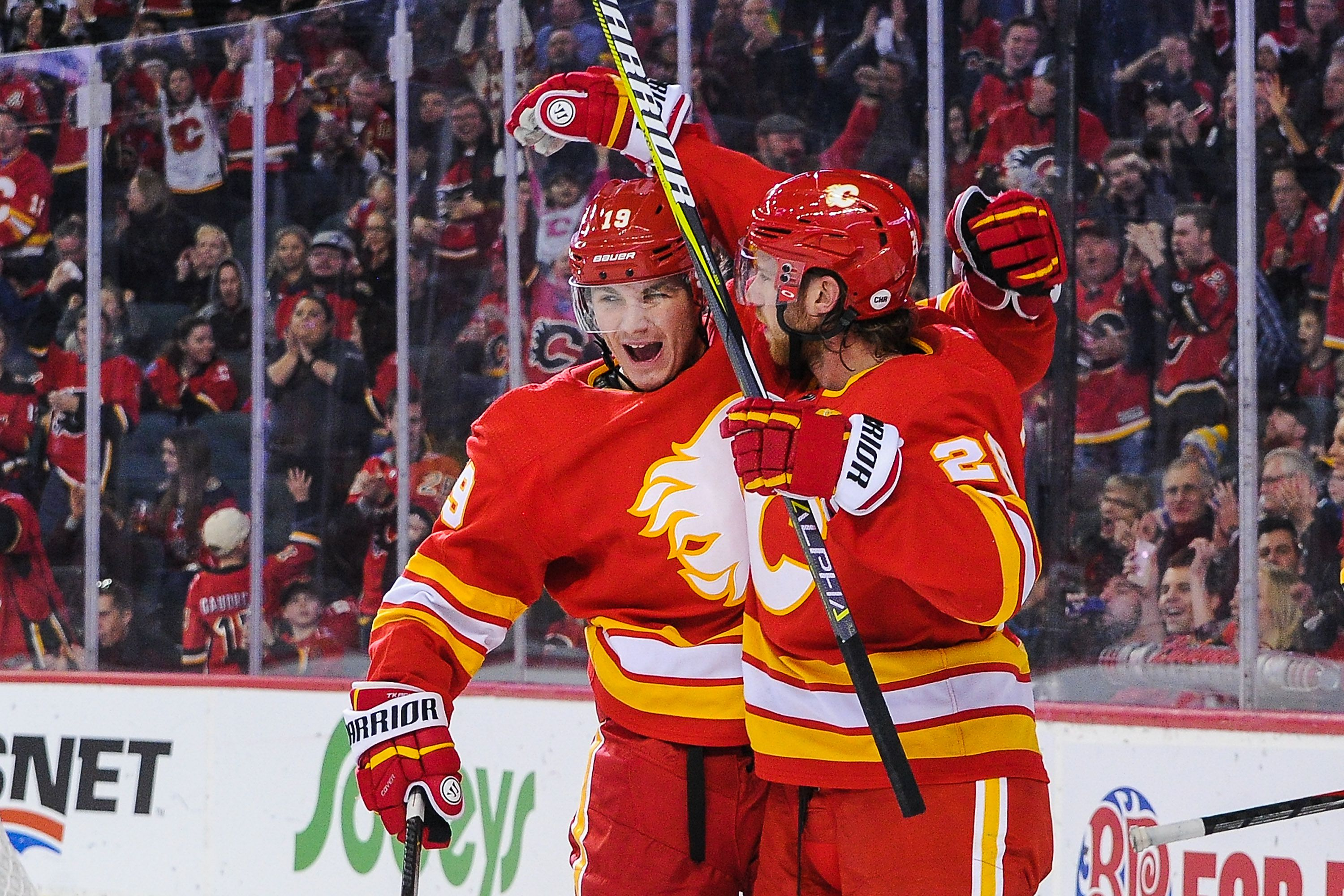 the best attitude 27f58 d0cfa This year's Calgary Flames are the real deal - The Globe and ...