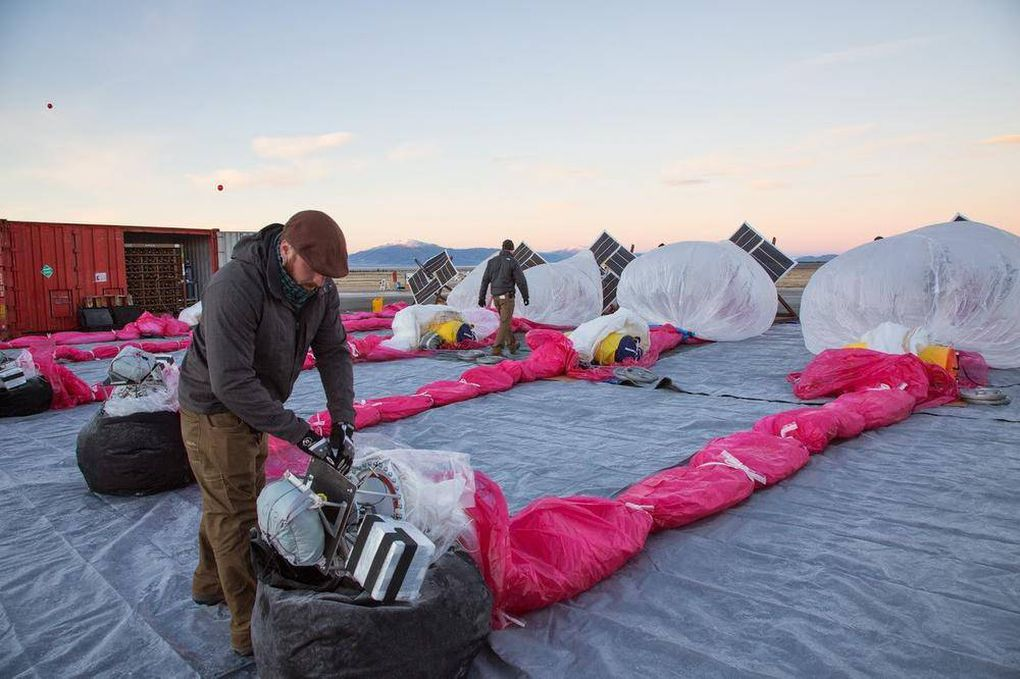 Project Loon: Google's stratospheric Internet plan