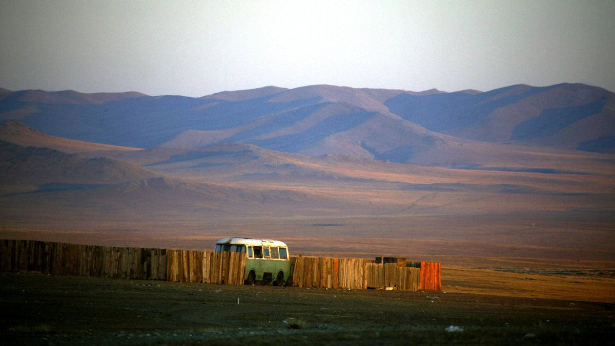 A small mining camp about 250 kilometres southwest of the Mongolian capital Ulan Bator, April 4, 2012. Mongolian mining company Erdenes Tavan Tolgoi, which owns one of the world's largest coking coal deposits, plans raise $3-billion next year in an IPO of a 29-per-cent stake in the firm.