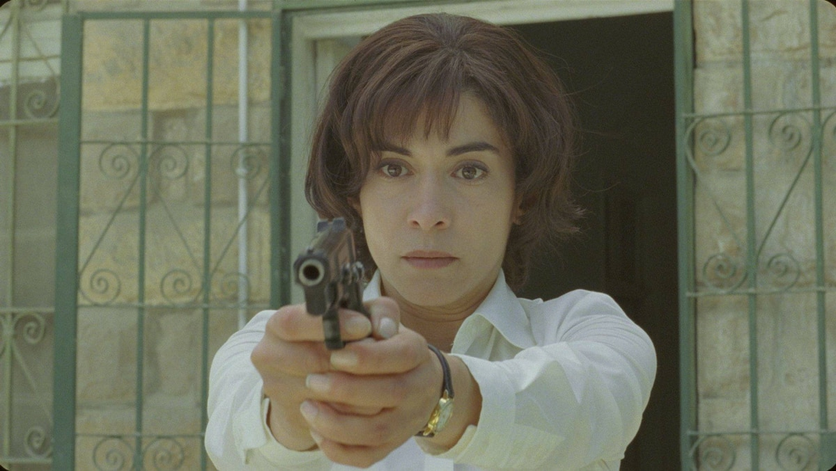 Lubna Azabal as Nawal Marwan in Incendies.