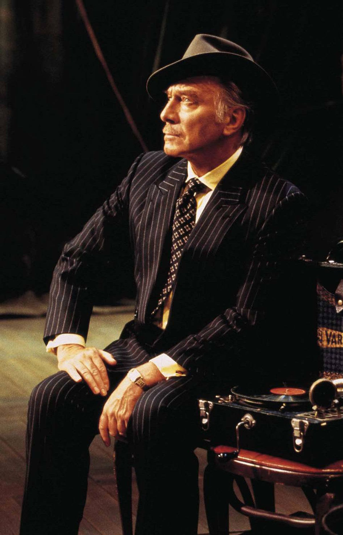 Christopher Plummer as John Barrymore in the 1996 Stratford Ontario Festival production of Barrymore by William Luce.
