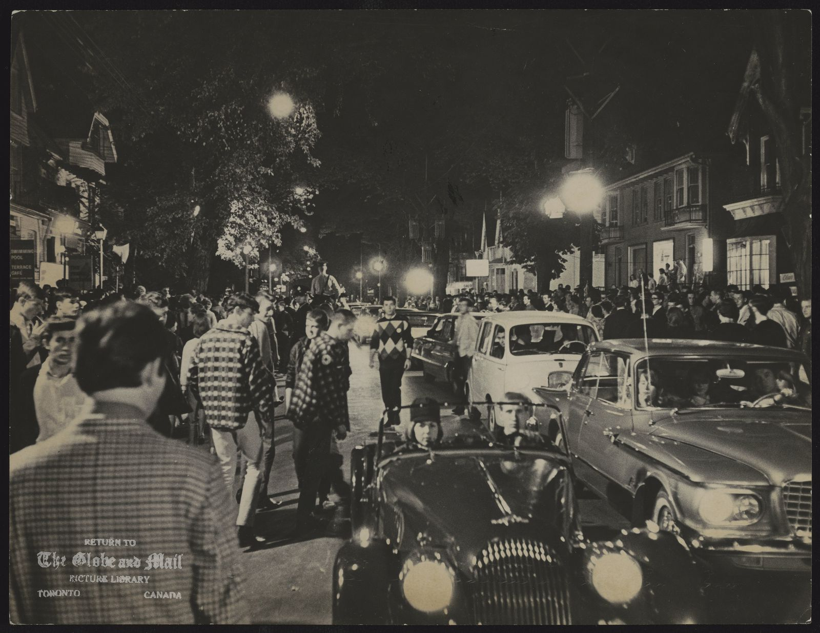 YORKVILLE during carnival in aid of St. Lawrence Centre for the Arts, September 2, 1965.