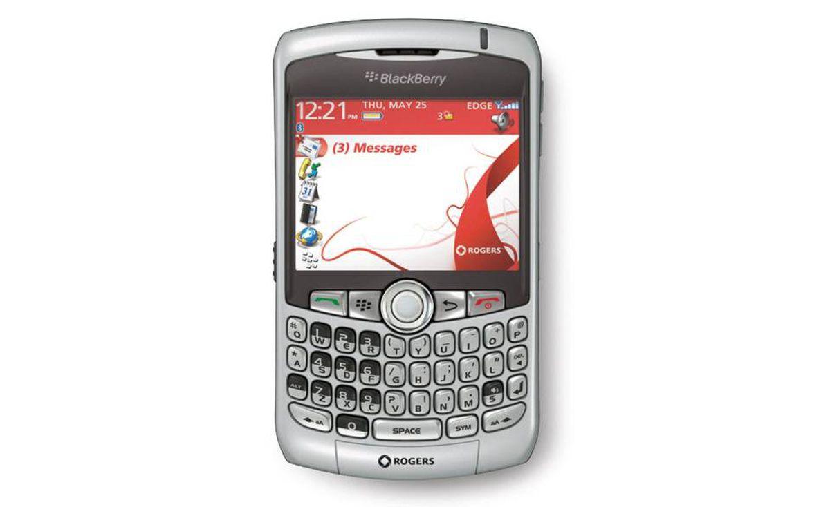 2007 - BlackBerry Curve 8300