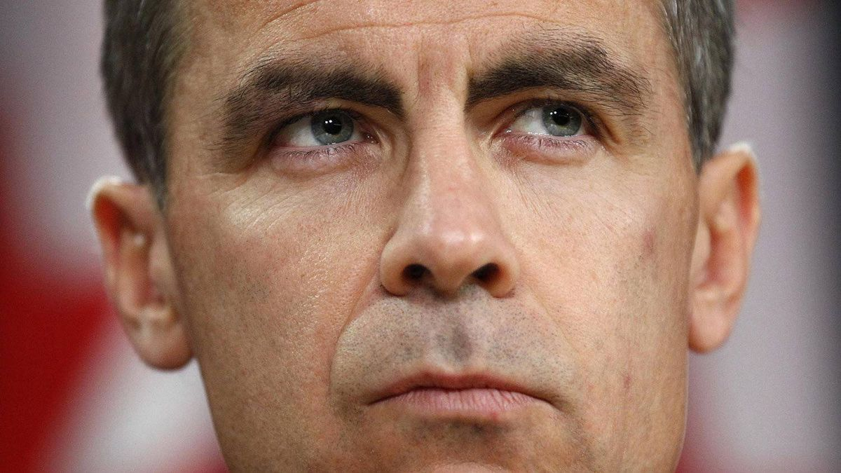 Bank of Canada Governor Mark Carney pauses during a news conference in Ottawa in October, 2010.