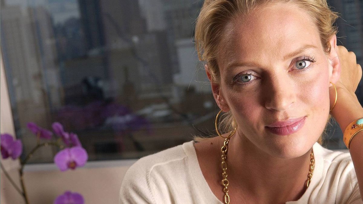 Actress Uma Thurman is photographed at the Mandarin Oriental Hotel in New York. The actress will star in a film based on Ottawa writer Kathy Cook's non-fiction book Stolen Angels about Ugandan schoolgirls abducted by the Lord's Resistance Army.