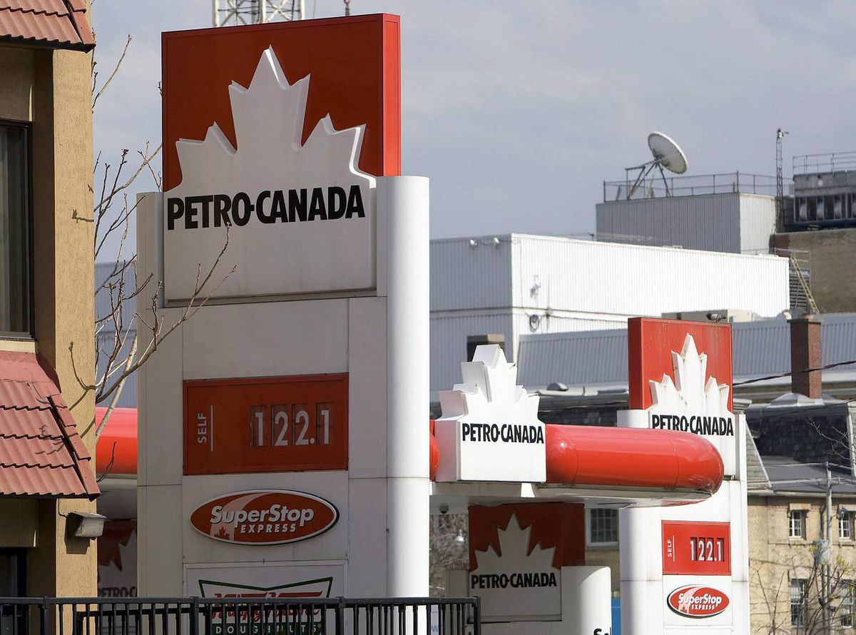 A Petro-Canada station in Toronto in 2008.