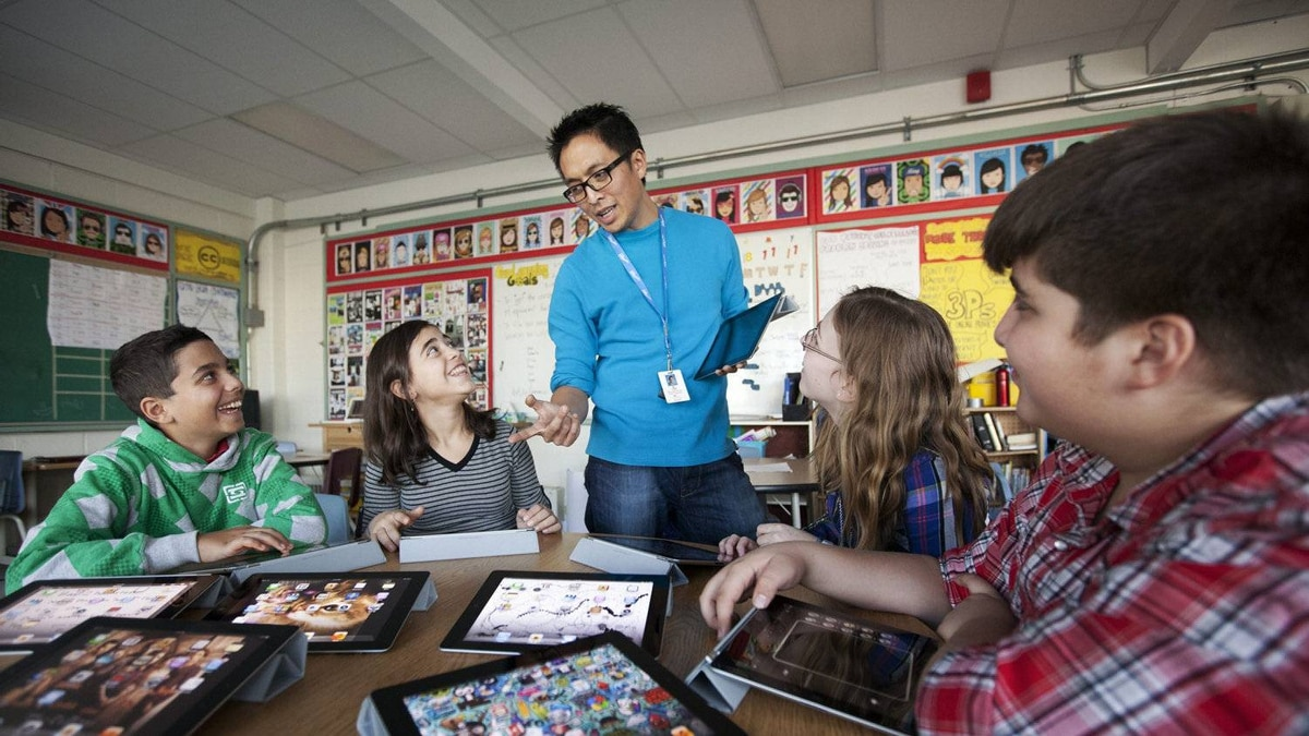 Royan Lee, a teacher at Beverley Acres Public School, uses technology to create a more interactive, collaborative and social classroom.