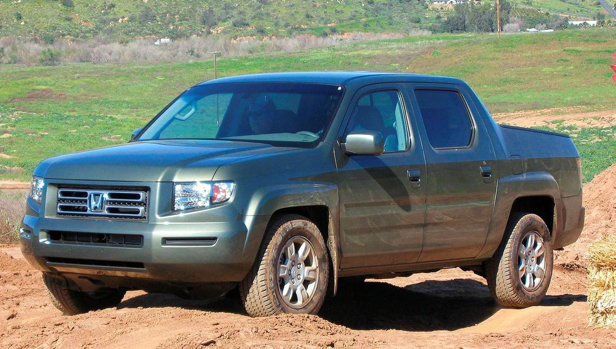 Compact/Mid-Size Pickup: The Honda Ridgeline has held 37.8% of its value after 48 months