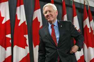 Bob Rae leaves a news conference in Ottawa on December 9, 2008, after he conceded the Liberal leadership race to Michael Ignatieff.