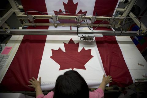 Canadian factories post strongest sales growth in more than three years