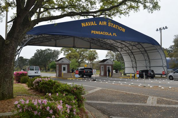 Four dead, including suspect, after shooting at Florida naval base