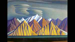 Bylot Island I by Lawren Harris (1885-1970). Painted 1930-31; oil on canvas