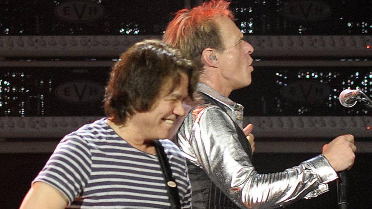 Eddie Van Halen and David Lee Roth perform at the ACC.