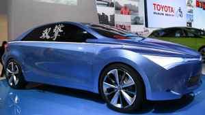Toyota's latest NS4 Plug-In Hybrid concept car.