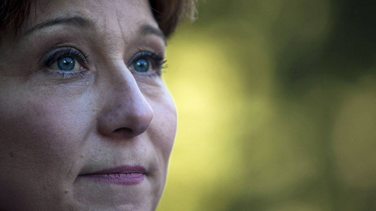 Christy Clark, then vying for the B.C. Liberal leadership, makes an announcement in North Vancouver on Feb. 18, 2011.