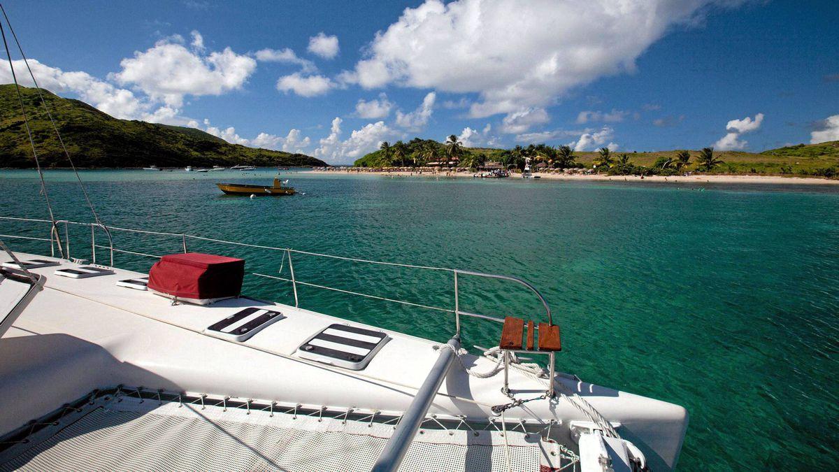 Explore The Beauty Of Caribbean: Sail On A Catamaran (not A Cruise Ship) To Explore Tiny