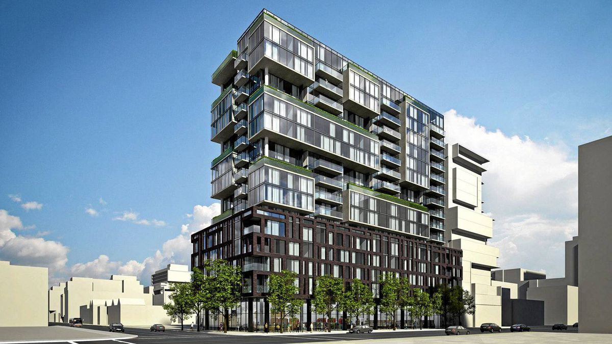 On Site, One Eleven Condominiums, King Street West, Toronto. Harhay Developments and Carttera Private Equities