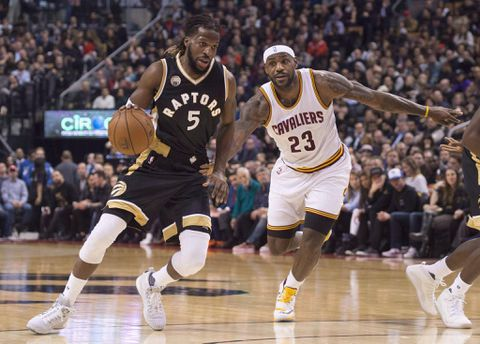 fa63f69a1b6 Raptors' DeMarre Carroll focused on fatherhood and a full recovery ...