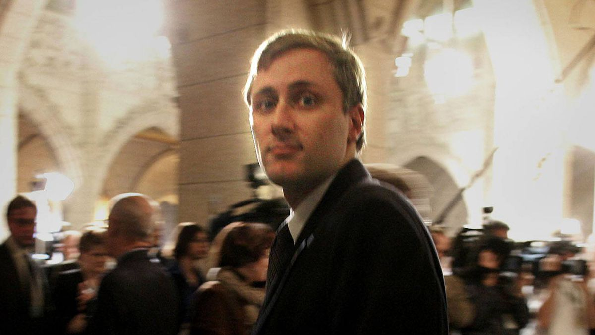 Conservative MP Brad Trost is seen in an October 2004 file photo. Bill Grimshaw for The Globe and Mail