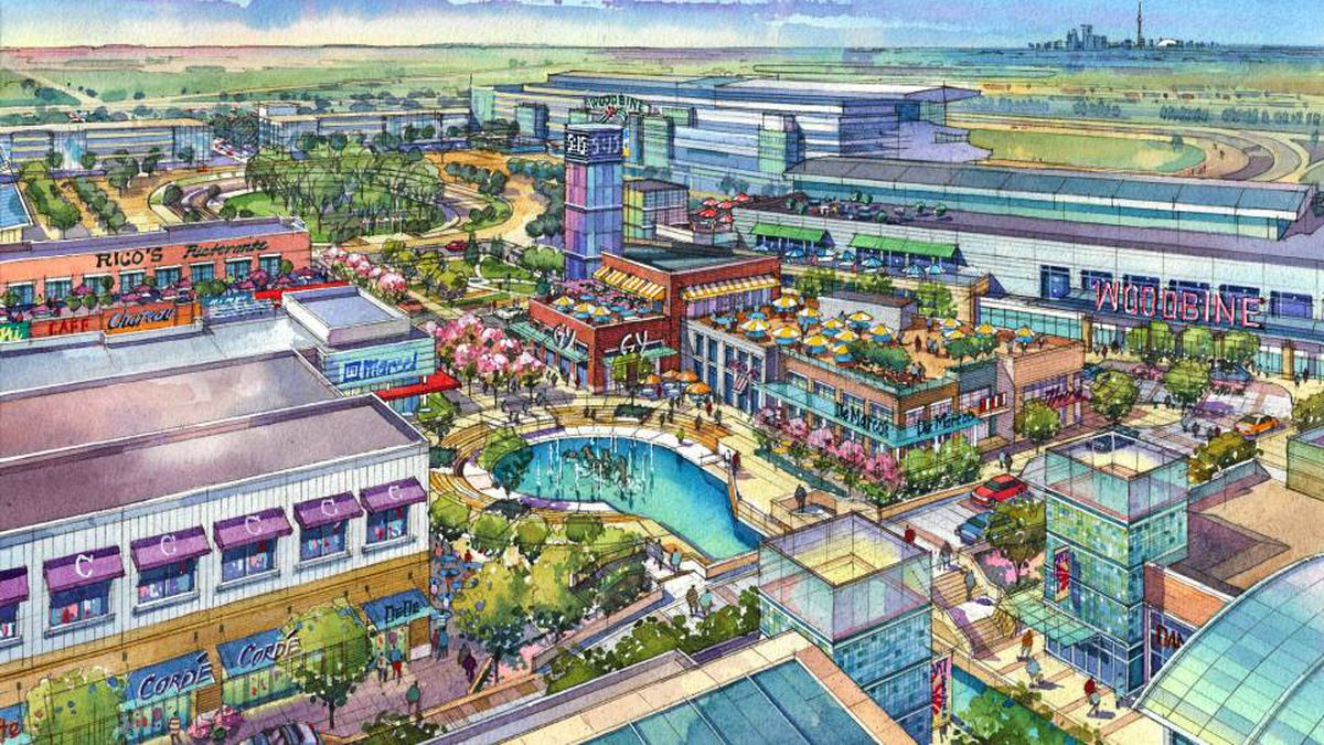 The Woodbine Live project was slated to include residential, office, entertainment and shopping space