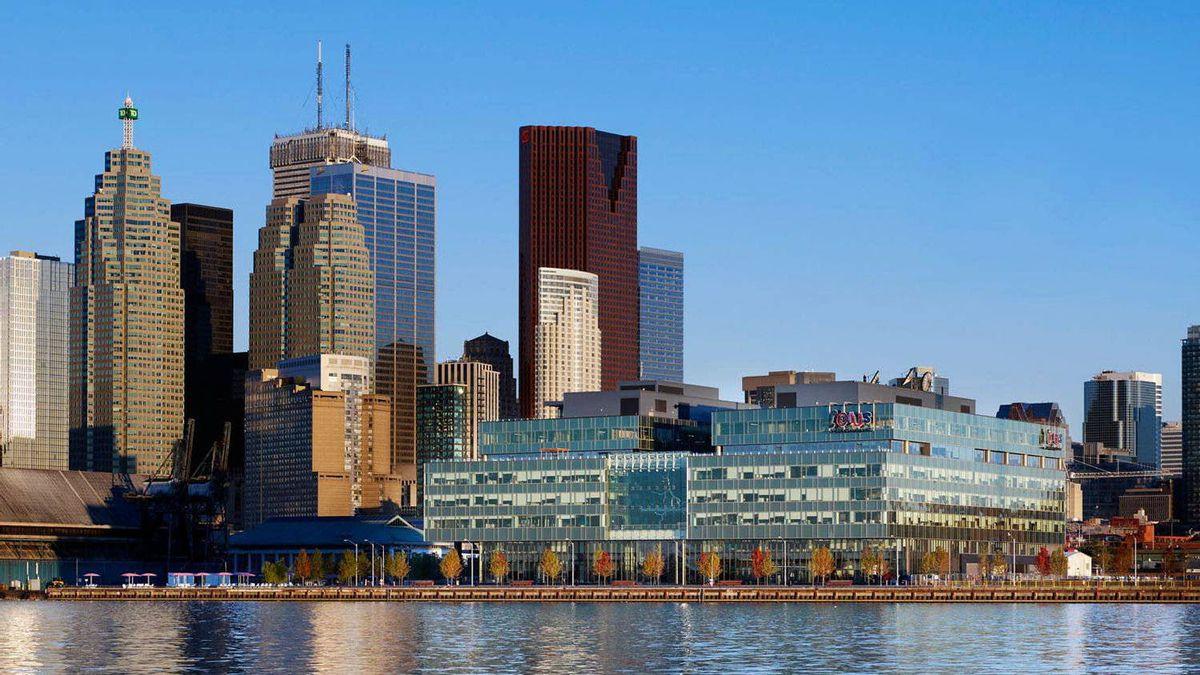 Corus Quay City Centre in Toronto