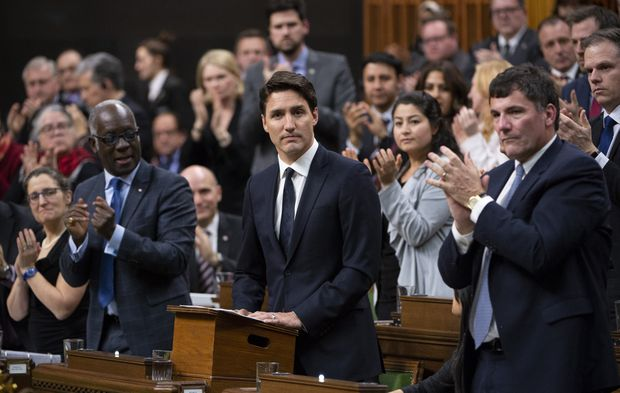 Trudeau condemns hateful, 'toxic segments' of society after New Zealand mosque shooting