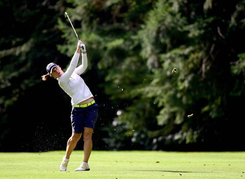 Karine Icher leads former champion Lydia Ko at Canadian Women's Open
