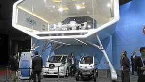 Nissan exhibit__Credit: Michael Vaughan