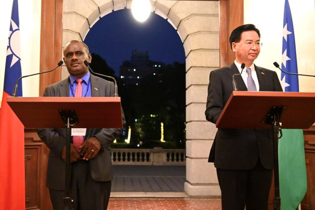 Government Cuts Ties With Taiwan