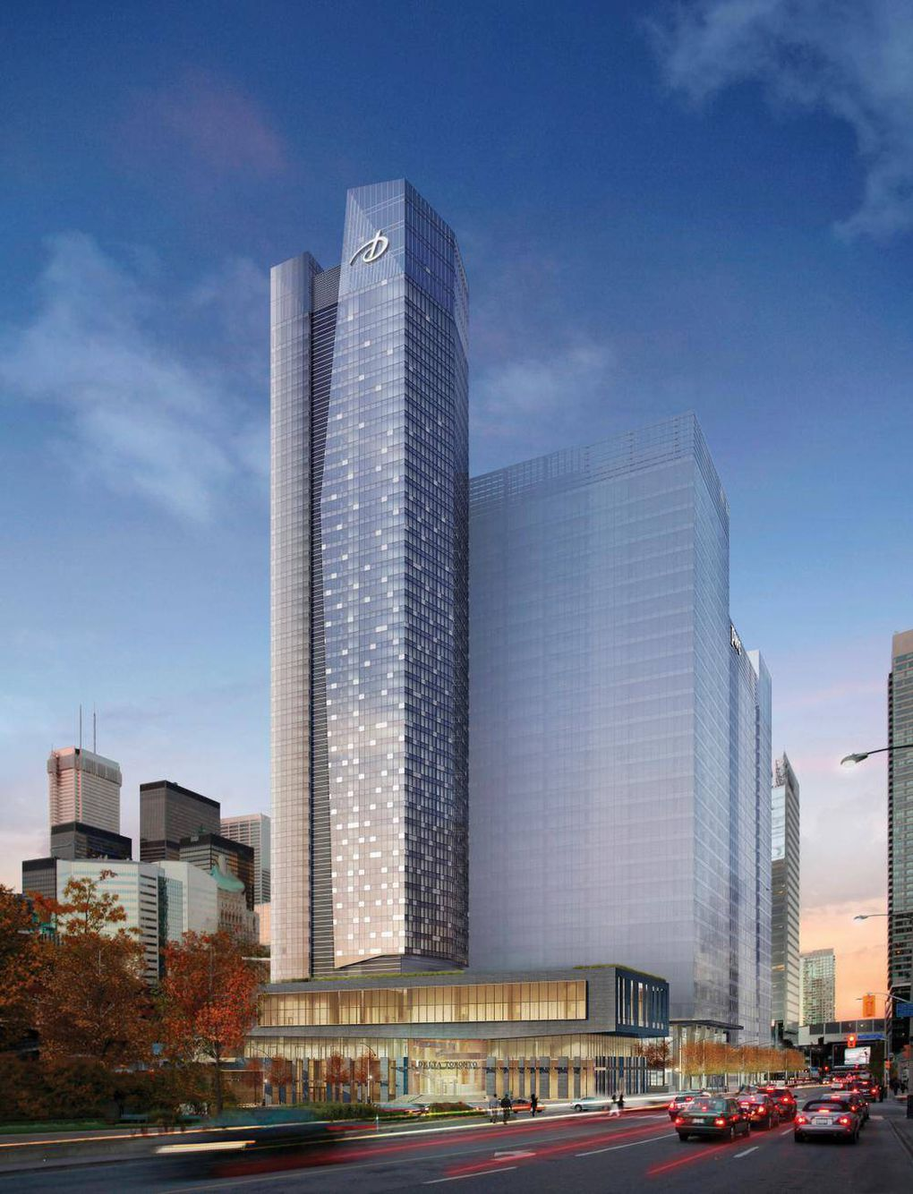 Delta S New Flagship Hotel At Centre Ice In Toronto The Globe