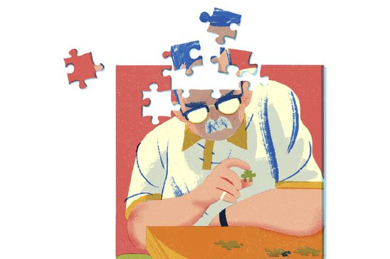 Putting the pieces of Dad's dementia together