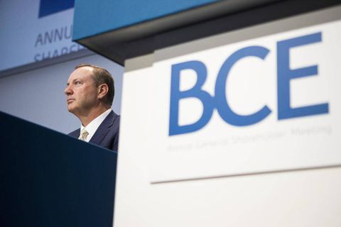 Robust wireless growth pushes BCE profit 8.7 per cent higher
