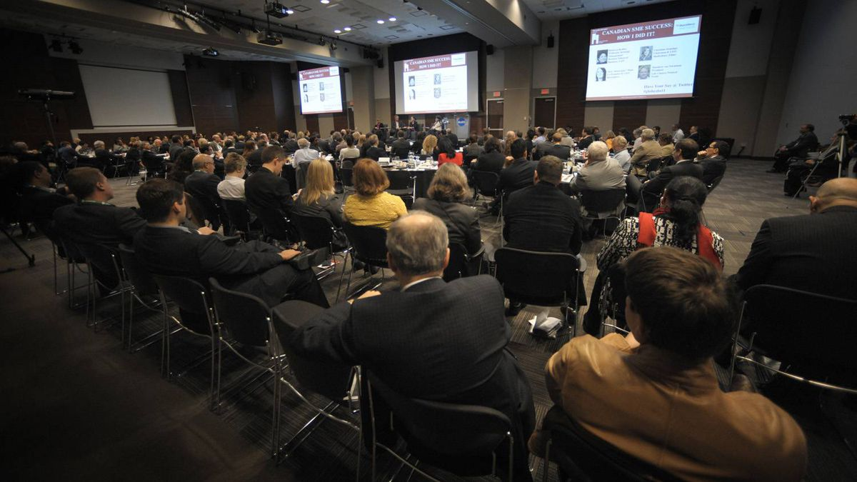 Canadian SME success: How I Did It talk during the Small Business Summit held at the MaRS Discovery District in Toronto on Nov. 8, 2011.