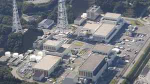 The Onagawa Nuclear Power Plant in Japan is seen in this Sept. 7, 2011 aerial photo.