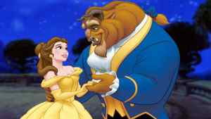 """A scene Disney's """"Beauty and the Beast,"""" now re-released in 3-D"""