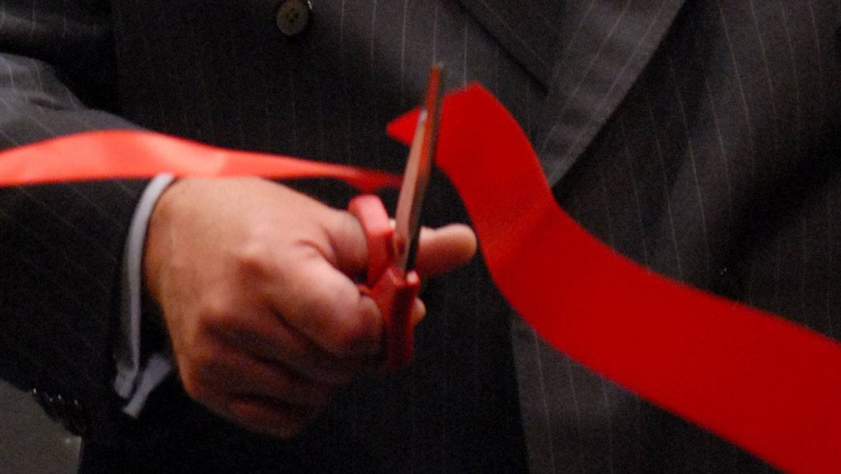 File photo of ribbon cutting in 2006.