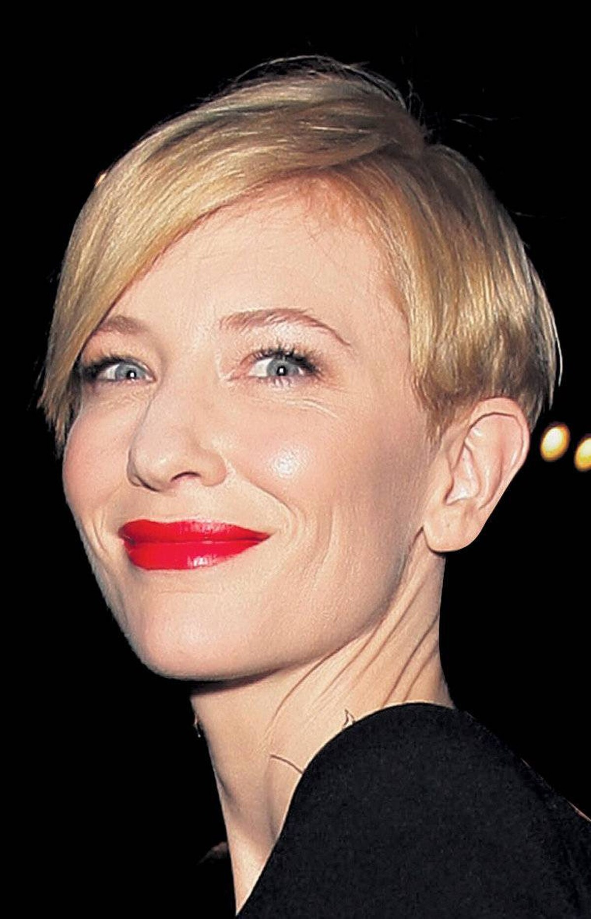 Cate Blanchett: Rich ruby