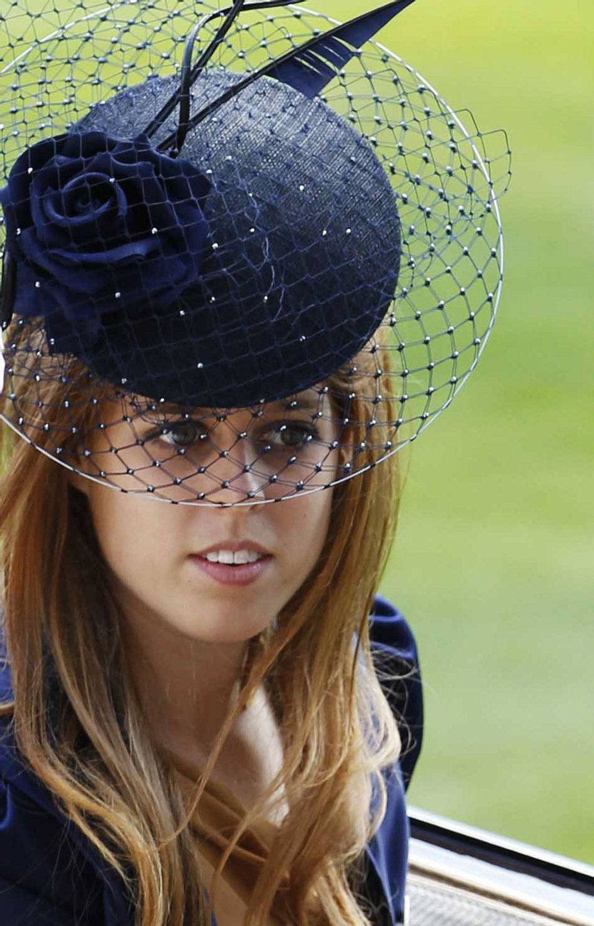 Princess Beatrice arrives on the Ladies Day, the third day of horse racing at Royal Ascot in southern England June 17, 2010.
