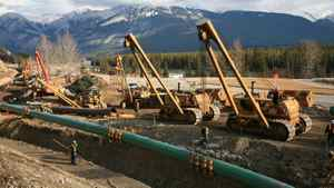Kinder Morgan completed a controversial expansion of the Trans Mountain pipeline through Jasper National Park several years ago and is looking to continue the expansion of the pipeline to increase capacity more than twofold.