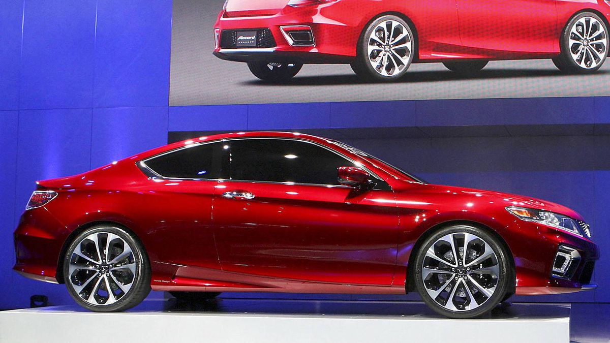 Accord plug in hybrid concept car