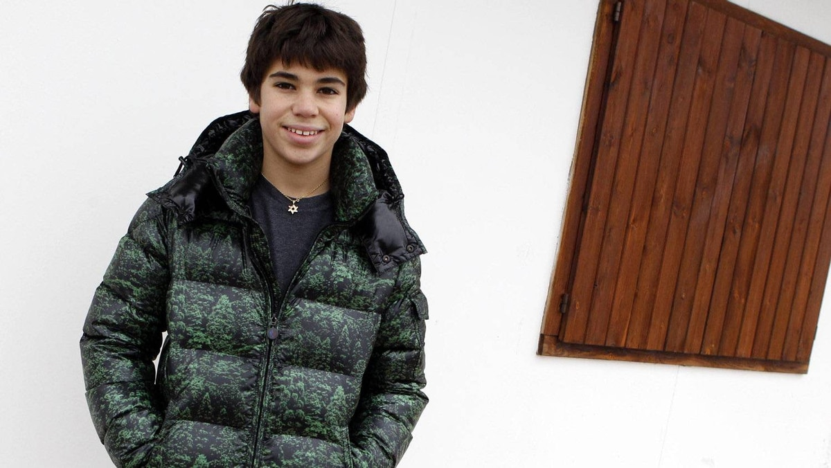 Kart driver Lance Stroll of Canada ahead of a training session at the South Garda Karting circuit in Lonato, northern Italy December 15, 2011. Photo: Alessandro Garofalo