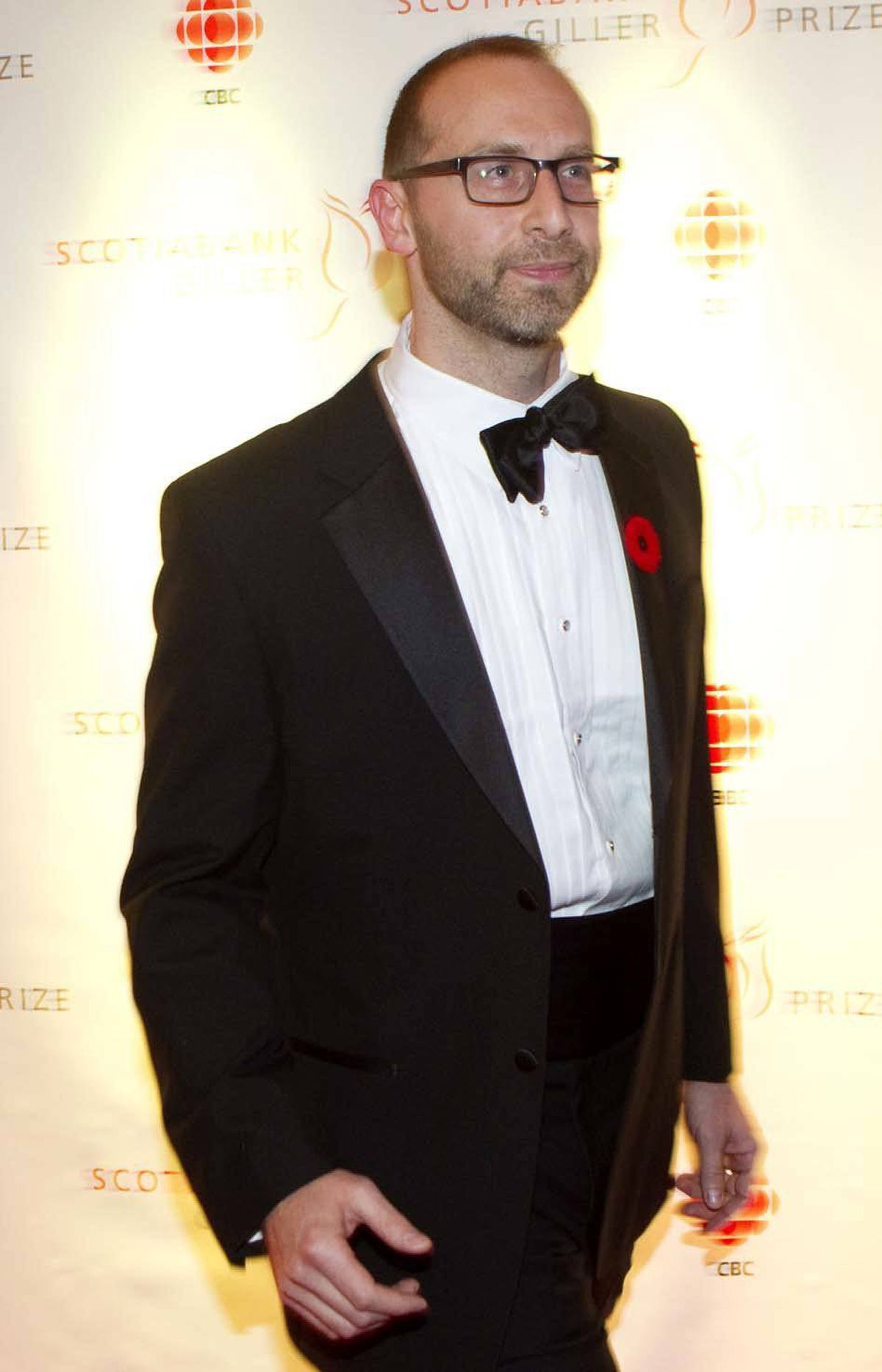 """David Bezmozgis, seen here on the red carpet at the Giller gala, was nominated for his novel """"The Free World""""."""