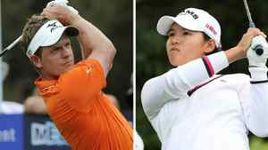 Luke Donald and Yani Tseng
